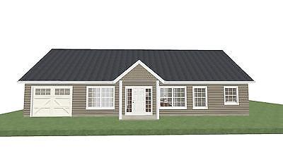 Small House Plan - Ready to Build - 1 Story 1001 SF - PL1804CR