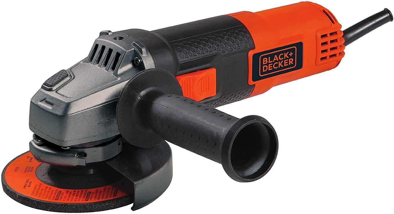 BLACK+DECKER BDEG400 6.5-Amp Angle Grinder, 4-1/2-Inch