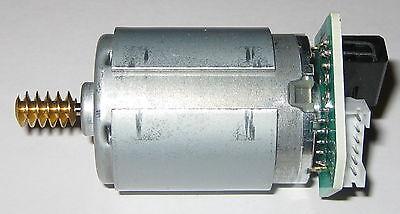 Johnson Hc385mg Motor With Brass Worm Gear Optical Encoder - 18 V - Dual Shaft