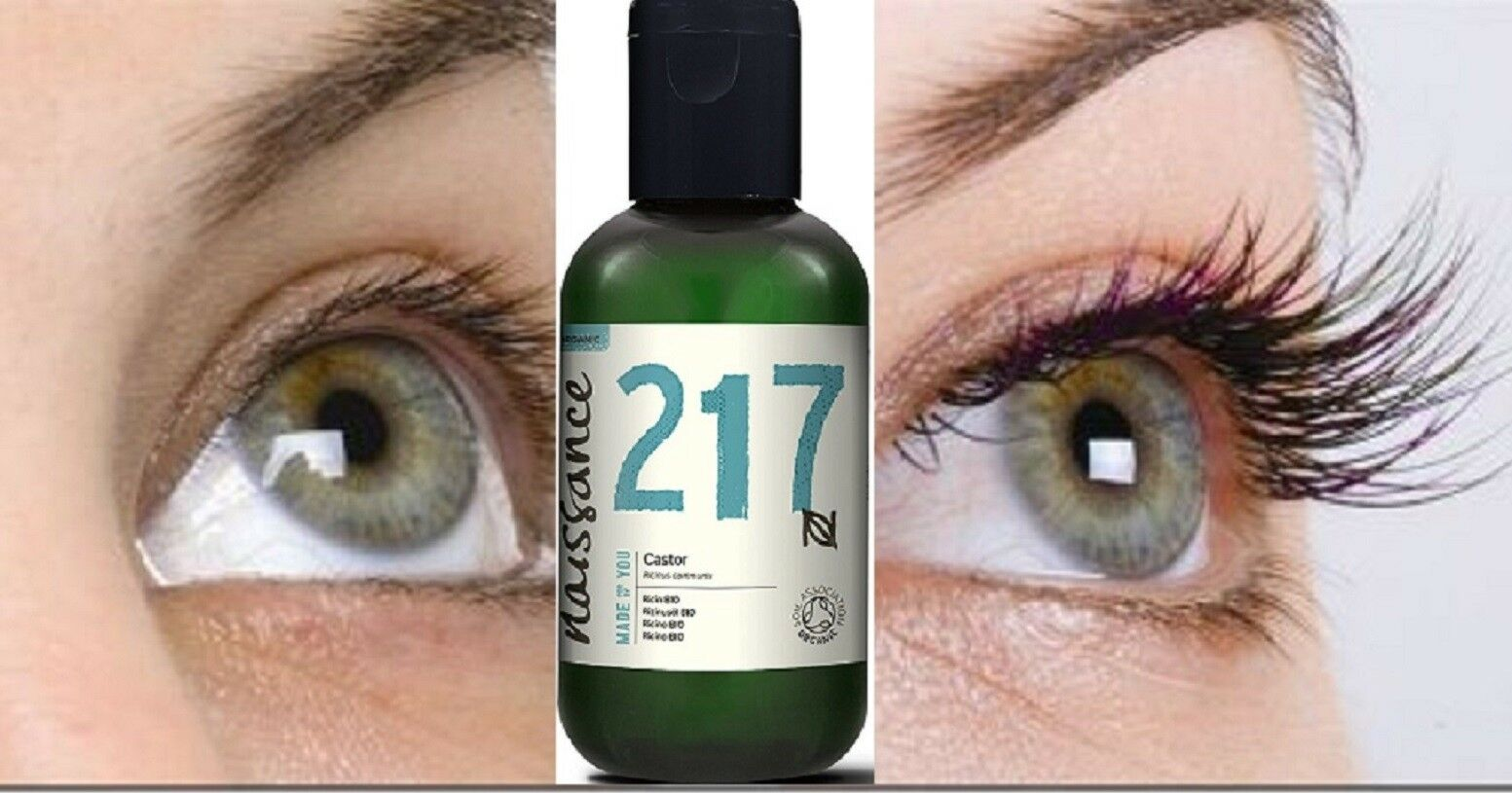 Organic Castor Oil - For Hair, Eyelashes, and Eyebrows Growt