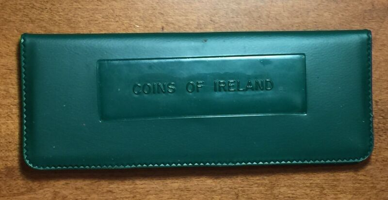 1966 Coins of Ireland Uncirculated 8 Coin Set