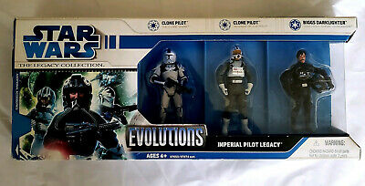 Star Wars 3.75 inch Action Figures Evolutions The Legacy Collection
