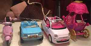 BARBIE VEHICLES