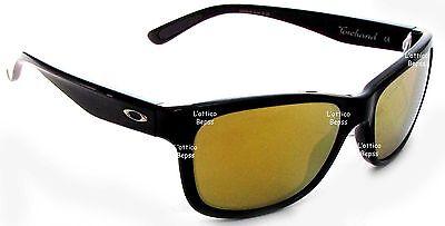 Sonnenbrille OAKLEY MOD. FORCHAND 9179-30 schwarz glänzend Objektiv 24K IRIDIUM