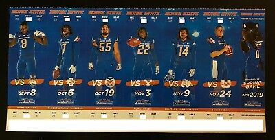 2018 Boise State Broncos Football Collectible Ticket Stub - Any Home Game Boise State Broncos Collectibles