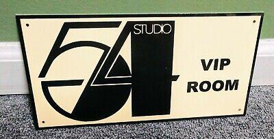 Studio 54 VIP Room Sign...New York