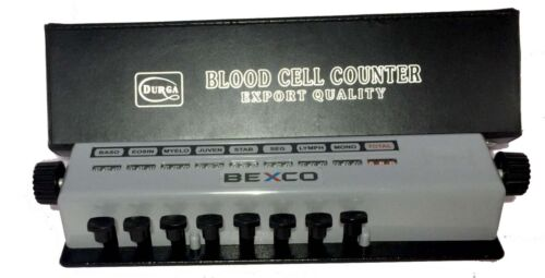 Lowest Best Price Blood Cell Counter 8 Keys MECHANICAL FREE DHL Shipping