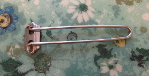 Vintage Retro Deco Mid Century Swing Arm Kitchen Towel Dishrag Holder folds flat