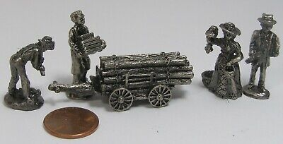 Liberty Falls The Pewter Collection AH109 1996 5pc No Manual C1A