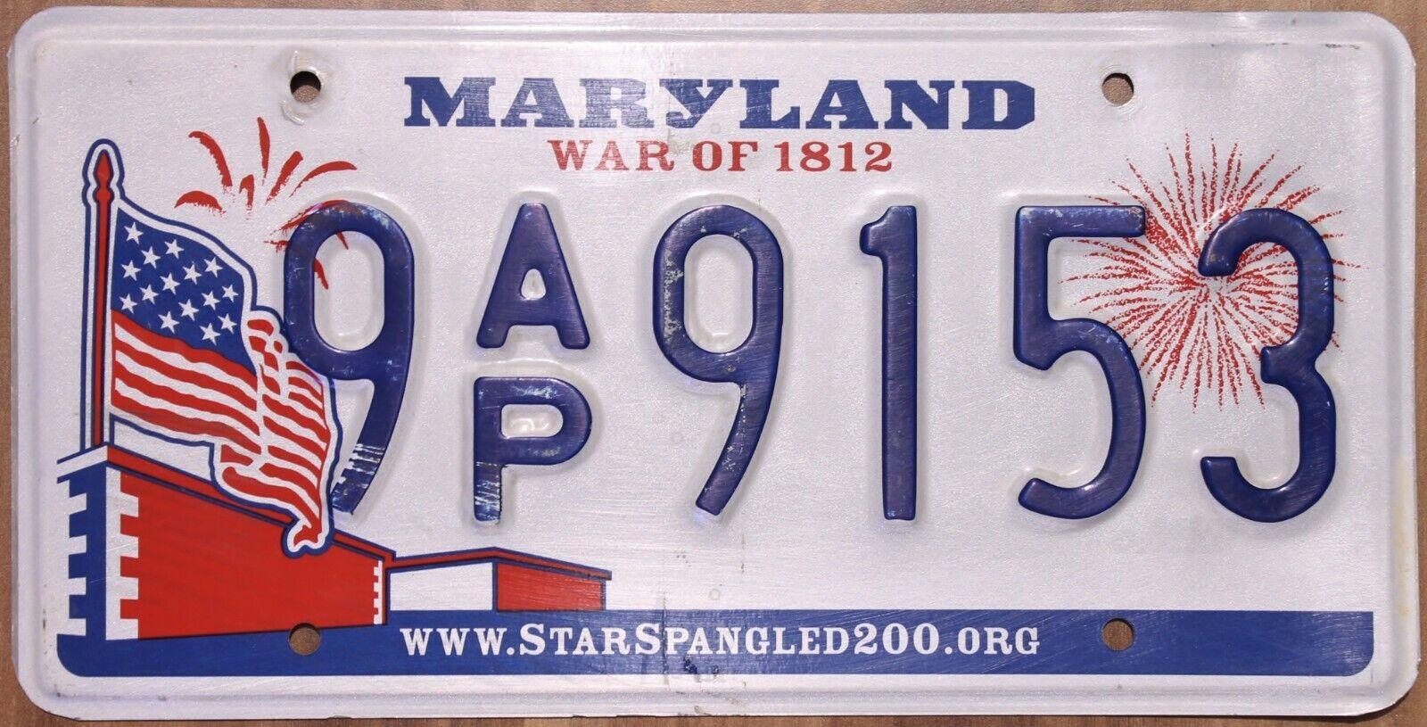 Original Nummernschild License Plate USA Maryland VARIOUS TYPES Plaque Targa