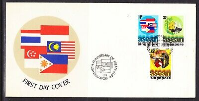 Singapore 1977 ASEAN Anniversary First Day Cover Unaddressed