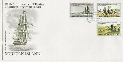 Norfolk Island Comm/FDC - 125th Ann of Migration to Norfolk Island -1981 (2027)Q