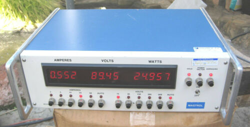 Magtrol 4612B-01 Multi-Range Digital Power Analyzer !