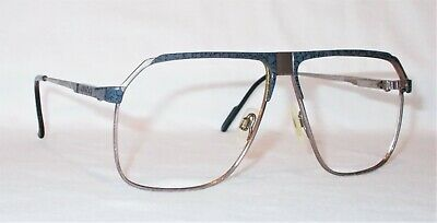 Vintage Gucci Eyeglass Frames GG 1200 65C Silver/Gray Marble 61[]11-120