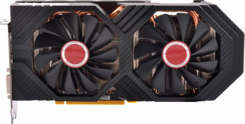 XFX - AMD Radeon RX 580 GTS Black Edition 8GB GDDR5 PCI Express 3.0 Graphics ...