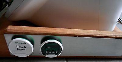 rollbrett gleitbrett mit magnetleiste buche ge lt z b f r thermomix tm5 ebay. Black Bedroom Furniture Sets. Home Design Ideas
