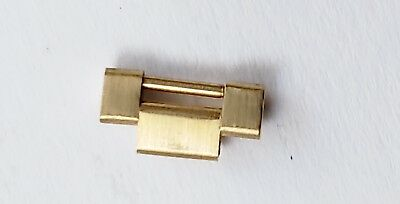 14K Gold Lady Presidential Rolex Day Date Wrist Watch Band link 10.3mm #122618-2