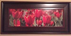 """21"""" x 45"""" framed print"""