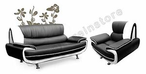 PASSERO-FAUX-LEATHER-SOFA-3-1-black-white-Nina