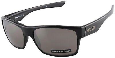 Oakley TwoFace Sunglasses OO9189-3760 Polished Black | Prizm Black Lens | BNIB