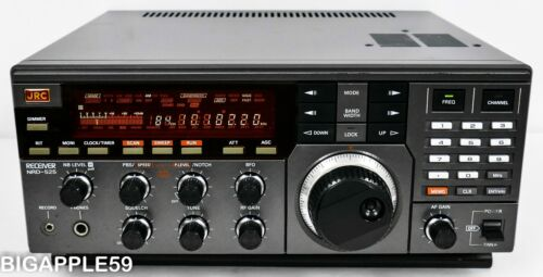 Japan Radio JRC NRD-525 SW AM SSB CW Radio Receiver ***CLASSIC DX UNIT***