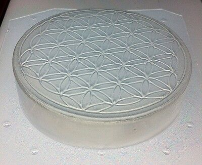 Flexible Soap Mold Sacred Geometry Flower of Life