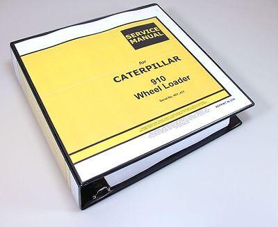 Cat Caterpillar 910 Wheel Loader Service Repair Manual Serial No. 40y 41y Book