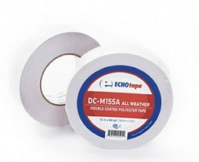Echo Double Sided Tape Dc-m155a Hot Cold Weather Polyester Tape 1.5 X 60 Yards