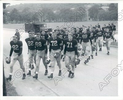 Army Black Knights Football Players  Press Photo