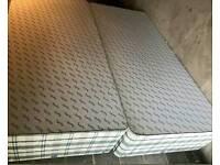 Superking divan with storage and mattress