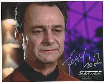 Jerry Hardin - Star Trek TNG signed photo