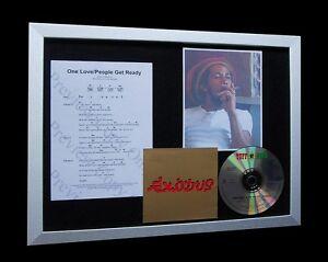 BOB MARLEY One Love LIMITED Nod CD MUSIC FRAMED DISPLAY