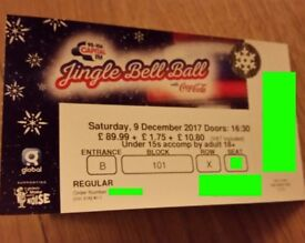 1 x Jingle Bell Ball Ticket - Sam Smith, Rita Ora, Dua Lipa... - Great seat