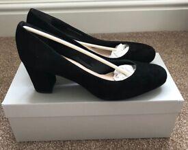 Kurt Geiger Black Suede Woman's Shoes