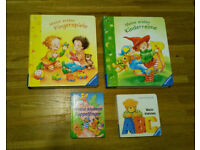 4 German Kids/Baby Books – Deutsche Kinderbücher