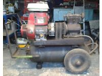 Petrol Air Compressor with 3 Additional Back Up Air Tanks
