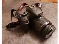Canon EOS 1300d camera + exras