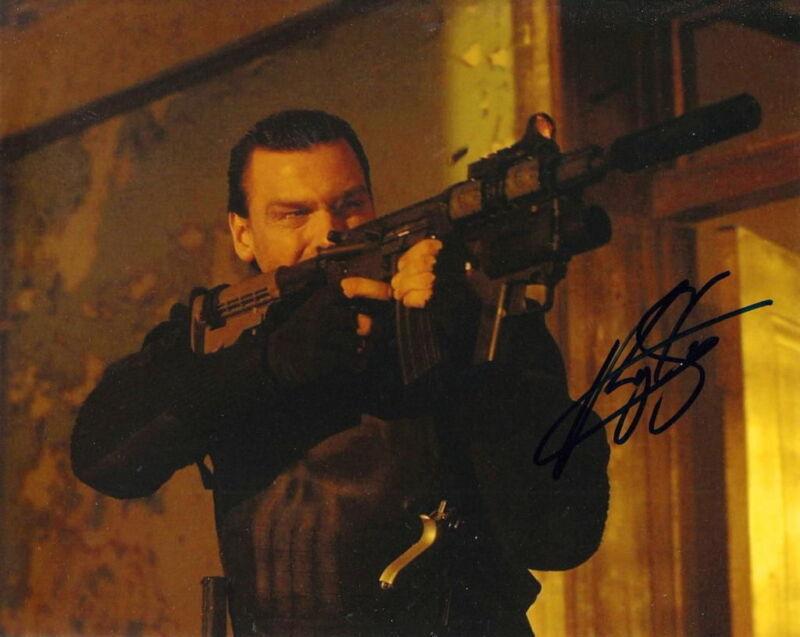 RAY STEVENSON..  Punisher - SIGNED