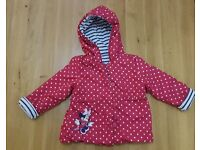 Minnie Mouse Jacket for Baby Girl Age 18-24 Months