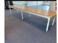 Farmhouse Table 4m X 1m