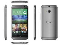 HTC One M8 16GB Gunmetal Gray Unlocked Smartphone, good condition in original box