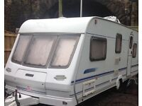 2001 Lunar 525 Ultimate 5 berth caravan