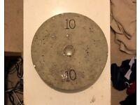 Concrete Weight Plates-2.5kg,5kg,10kg...