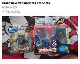 Brand new transformers toys see pics for prices