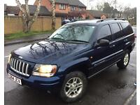 JEEP GRAND CHEROKEE BI-FUEL LPG 4x4 AUTO PORTSMOUTH