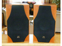 Monitor Audio Silver 3i speakers (pair) cherry wood finish