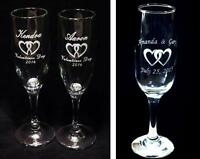 Moncton - laser engraved custom glassware for your wedding day