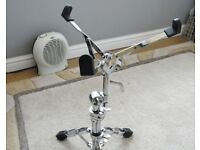 SNARE DRUM STAND WITH LEVER BASKET CONTROL