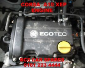 VAUXHALL CORSA ENGINE A10 XEP PETROL FULLY TESTED