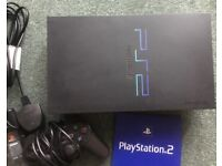 Sony PlayStation 2 Black Console & Game Bundle Working